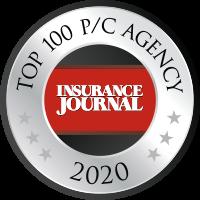 top 100 P/C agency badge